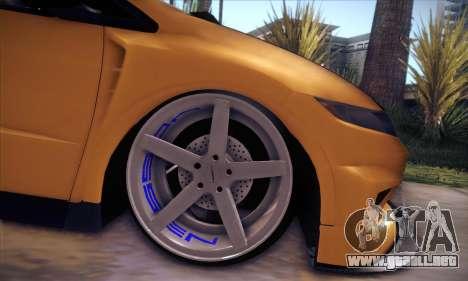 Honda Civic Type R Mugen para vista lateral GTA San Andreas
