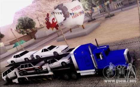 Article Trailer 3 para GTA San Andreas vista posterior izquierda