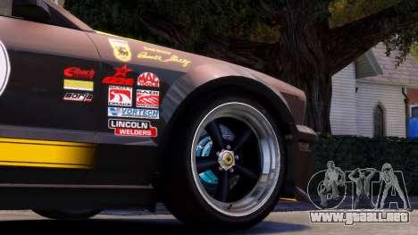 Shelby Terlingua Mustang para GTA 4 vista lateral
