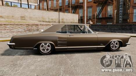 Buick Riviera 1963 para GTA 4 left