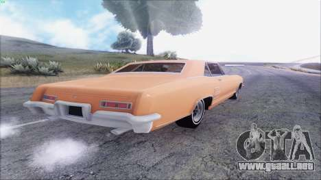 Buick Riviera 1963 para la visión correcta GTA San Andreas