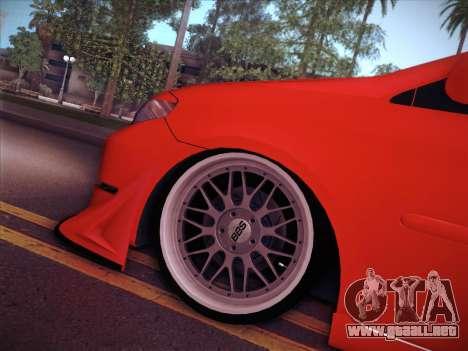 Toyota Vios Modified Indonesia para visión interna GTA San Andreas