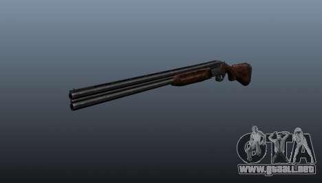 Escopeta doble-barreled ТОЗ-34 para GTA 4