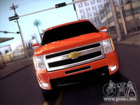 Chevrolet Cheyenne LT 2008 para visión interna GTA San Andreas