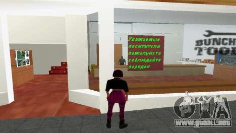 Tienda de herramientas para GTA Vice City segunda pantalla