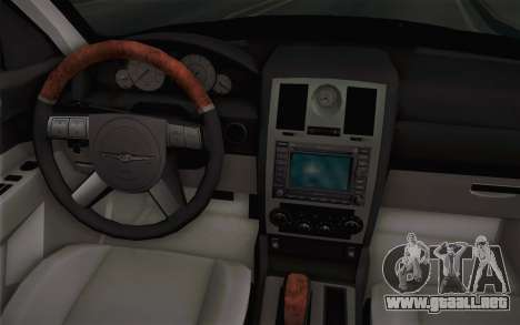 Chrysler 300C Limo 2007 para GTA San Andreas interior