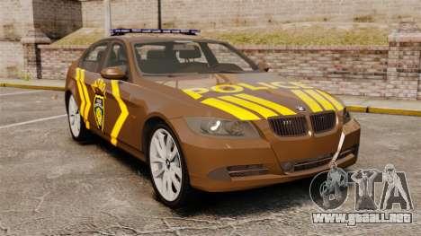 BMW 350i Indonesia Police v2 [ELS] para GTA 4