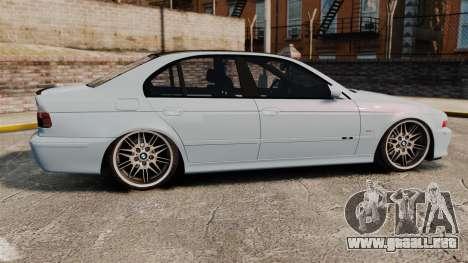 BMW M5 E39 2003 para GTA 4 left