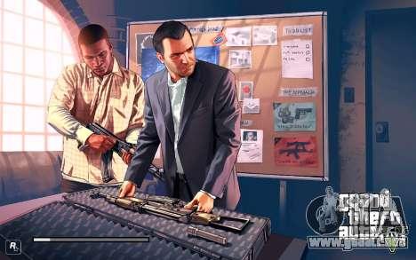 GTA V to SA: LoadScreens para GTA San Andreas sucesivamente de pantalla