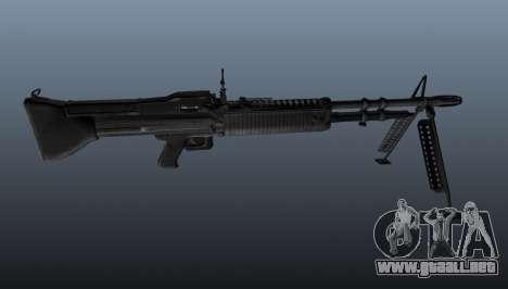 Ametralladora M60 de propósito general para GTA 4 tercera pantalla