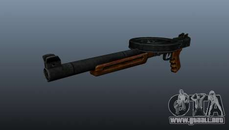 La metralleta SMG silenciado para GTA 4