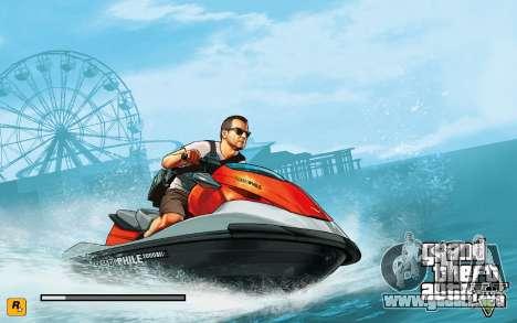 GTA V to SA: LoadScreens para GTA San Andreas sexta pantalla