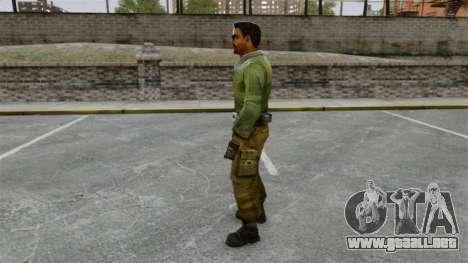 Terrorista de Oriente medio equipo Elite para GTA 4 segundos de pantalla