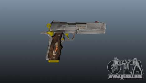 Pistola de Marfil para GTA 4 tercera pantalla