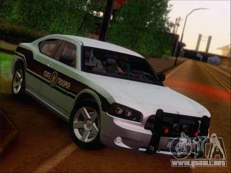 Dodge Charger San Andreas State Trooper para la vista superior GTA San Andreas