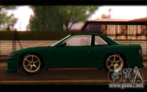 Nissan Silvia Drift para GTA San Andreas left