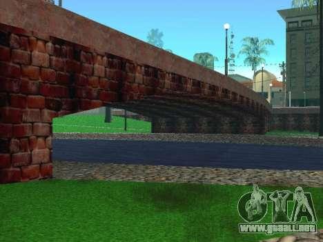 Glen Park para GTA San Andreas segunda pantalla