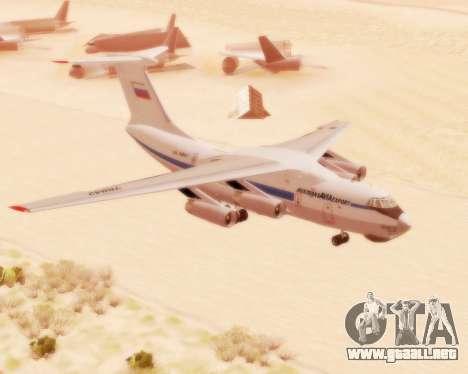 Il-76td v2.0 para GTA San Andreas left