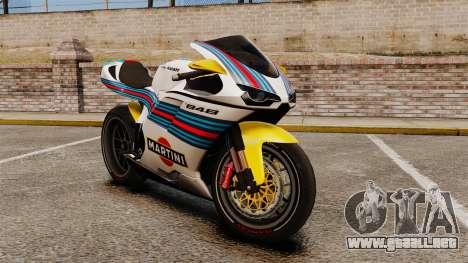 Ducati 848 Martini para GTA 4