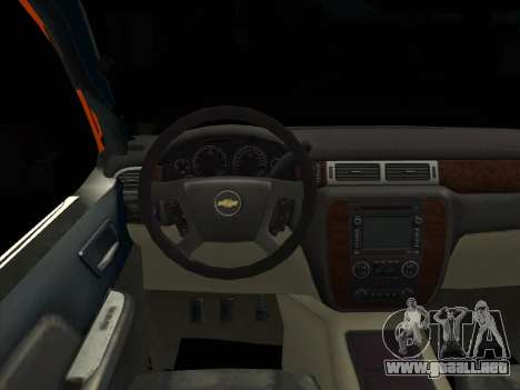 Chevrolet Cheyenne LT 2008 para GTA San Andreas vista posterior izquierda