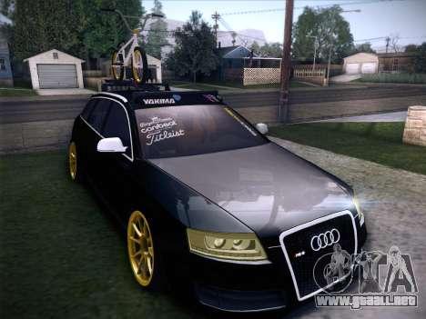Audi Avant RS6 LowStance para vista inferior GTA San Andreas
