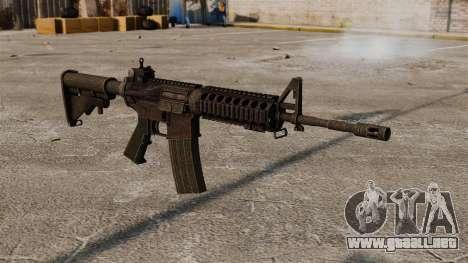 Fusil semiautomático AR-15 para GTA 4