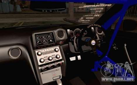 Nissan GT-R Liberty Walk para la visión correcta GTA San Andreas