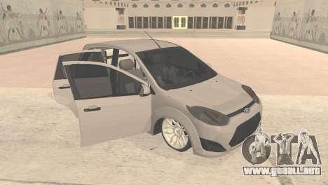 Ford Fiesta Rocam Edit para GTA San Andreas left