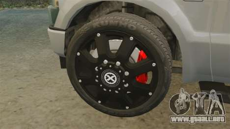 Ford F-350 Pitbull v2.0 para GTA 4 vista interior