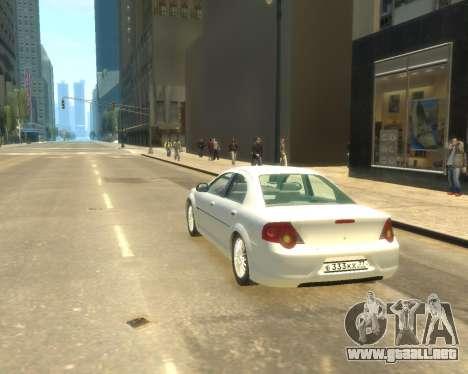 Sajber Volga GAZ para GTA 4 left