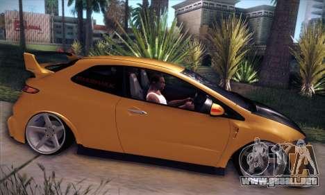 Honda Civic Type R Mugen para visión interna GTA San Andreas