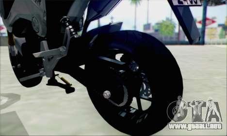 Honda MSX 125 para la visión correcta GTA San Andreas