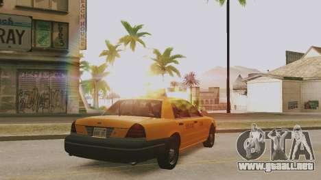 ENB soleado para PC baja o media para GTA San Andreas segunda pantalla