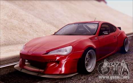 Toyota GT86 Rocket Bunny v2 para GTA San Andreas