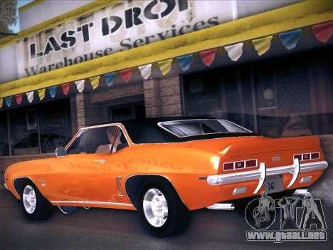 Chevrolet Camaro SS 1969 para GTA San Andreas left
