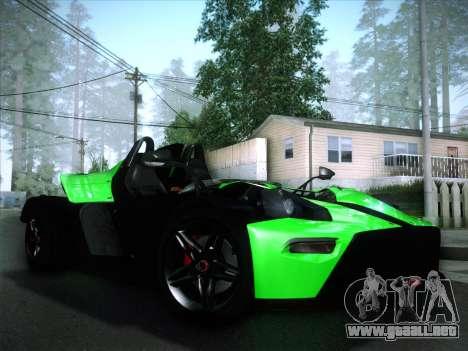 KTM Xbow R para visión interna GTA San Andreas