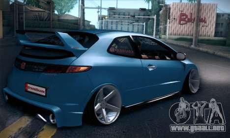 Honda Civic Type R Mugen para la visión correcta GTA San Andreas