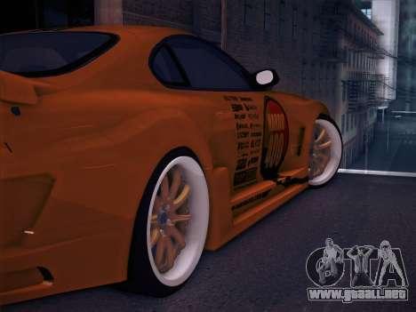Toyota Supra Top Secret V12 para las ruedas de GTA San Andreas