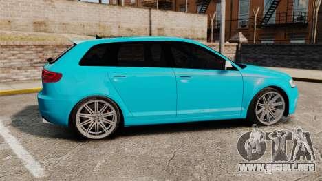 Audi RS3 Sportback [Typ 8PA] 2011 para GTA 4 left