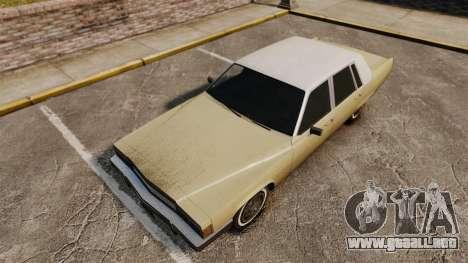 Nueva tierra en transporte para GTA 4 adelante de pantalla