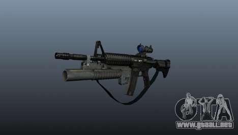Automático carabina M4A1 v2 para GTA 4