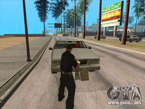 TVNS para GTA San Andreas sexta pantalla