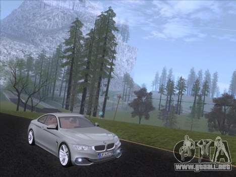 BMW F32 4 series Coupe 2014 para GTA San Andreas left