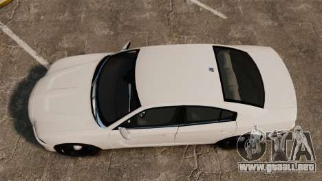 Dodge Charger 2014 para GTA 4 visión correcta