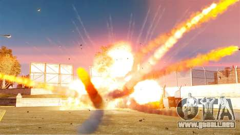 El nuevo escenario de incendios y explosiones para GTA 4 tercera pantalla
