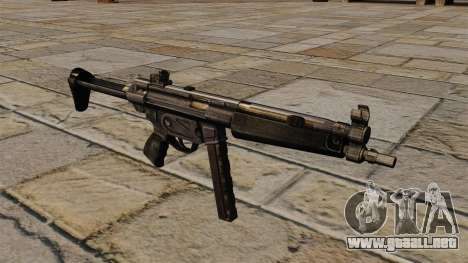 Subfusil MP5 para GTA 4
