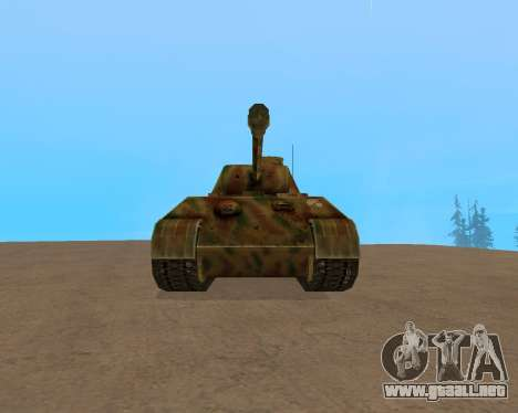 pz.kpfw v Panther para GTA San Andreas left