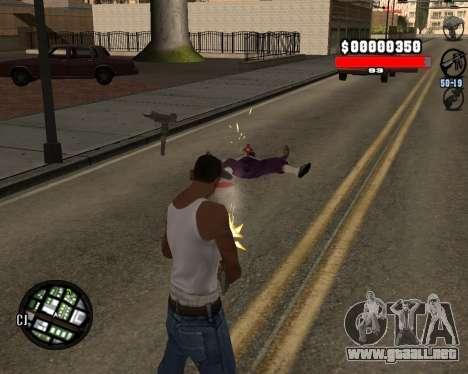 C-Hudik para GTA San Andreas