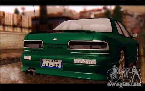 Nissan Silvia Drift para la visión correcta GTA San Andreas
