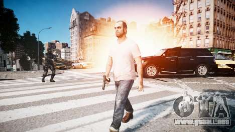 Trevor Fillips from GTA V para GTA 4 tercera pantalla